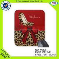 Hot design full color promotion rubber custom printed mouse pad