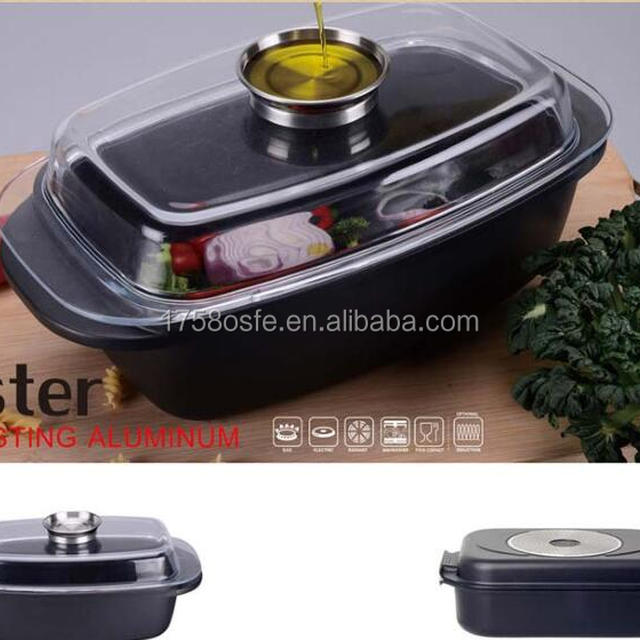fish pot with special lid non-stik casserole induction bottom in 2016
