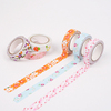 INTERWELL CBT18 Decorative Fabric Tape, Scrapbooking Self Adhesive Fabric Tape