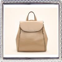Women Soft Leather Lovely Backpack Cute Schoolbag Shoulder Bag