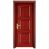 Modern New Style Steel Security Door Entry Steel Security Residential Door Fire rated door