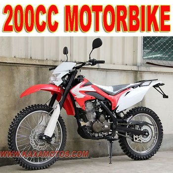 Off Road Motorcycle 200cc