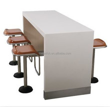 Modern restaurant bar counter and chairs for sale FOH-XM04-33