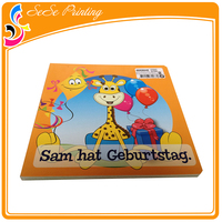 Custom US Letter Size Children Story Board Book Cardboard Book Print