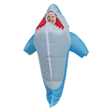 Custom Advertising Inflatable Carton Shark Costume gruffalo adult party costume