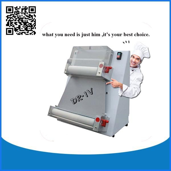 Semi-automatic pizza sheeter making machine
