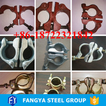 Stock ! scaffoding pipe clamp scaffold pressed sleeve coupler