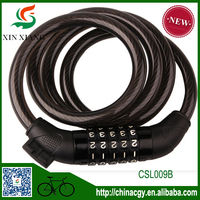 anti-thief bicycle cable bike alarm wire cable lock