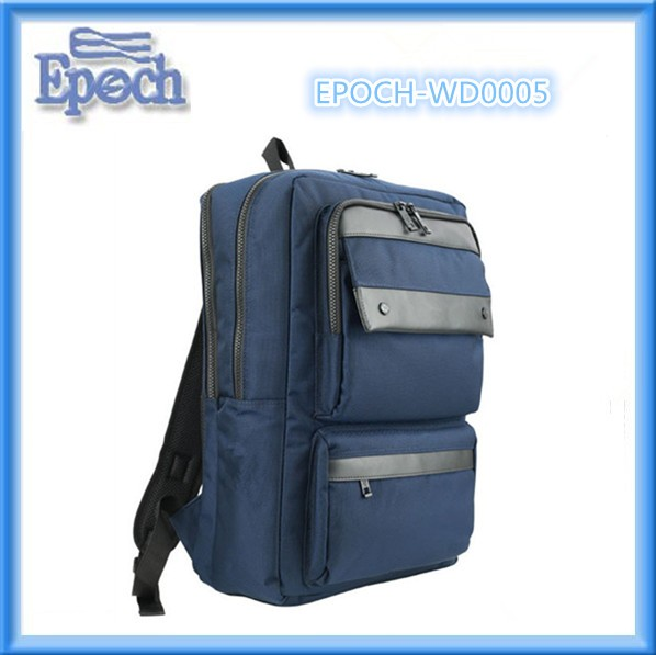 Europe korea fashion laptop backpack school backpack 600D backpack