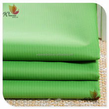 latticed nylon taffeta with milky pu coating for outdoor sports breathable garments