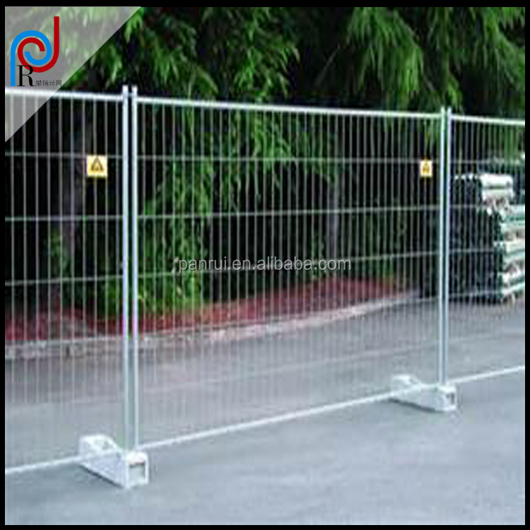 Panrui 2016 welded temporary fence exporting Europe /africa