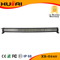 42 inch 240w Led Curved Light Bar Flood/4x4 Led Light Bar/12v Led C ree Driving Lights