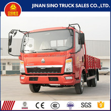 SINOTRUK HOWO 85HP diesel engine type 4x2 light cargo truck