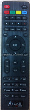 black color 45 keys 45 buttons CRISTOR Remote control for ATLAS HD 200s HD-200S HD200S HD100S