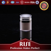 Professional design Cosmetic Plastic acrylic airless acrylic cosmetic bottle