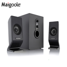 Multimedia Hot sale Home theatre SUBWOOFER 2.1 Speaker System With LED Subwoofer Speaker With USB/SD/FM/Remote Control
