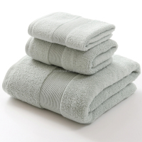 Very Great Plain Dyed Process Egyptian Cotton Towels Turkey 100% Pure Organic With Stain Border