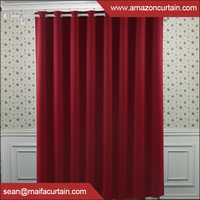 New products 2016 Luxury Creative design Colorful hotel quality blackout curtains