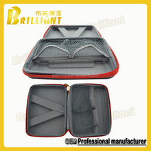 Low price personalized eva zipper shaver carrying case