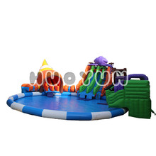 China Inflatable Manufacturer Wholesale High End Quality Water Theme Fun Park Slide Model Design