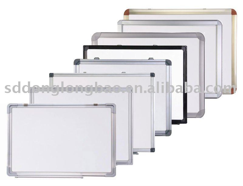 Magnetic white board for school and office