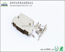AMP zinc alloy 37pin metal shell with long screw connector