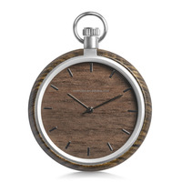 Custom Wood pocket Watch, New Arrival Bamboo Watch