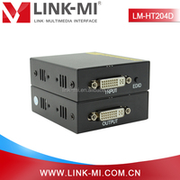 LM-HT204D 60m DVI to UTP Extender TX + RX Over Cat6/6e/7 Cable With Study EDID Function