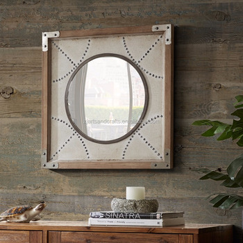 Classic Wooden Frame Decorative Mirror