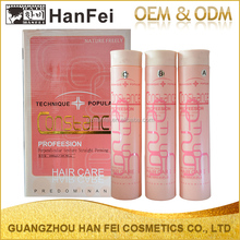 Sample free hearbal organic permanent hair straightening cream