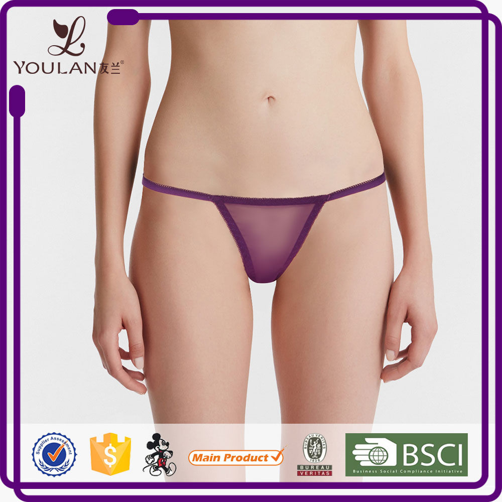 New Arrival Comfortable Minimizer Pictures Junior Thong Bikini