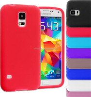 Grip Plain Soft Silicone Rubber Gel Skin Case Cover For Samsung Galaxy S5