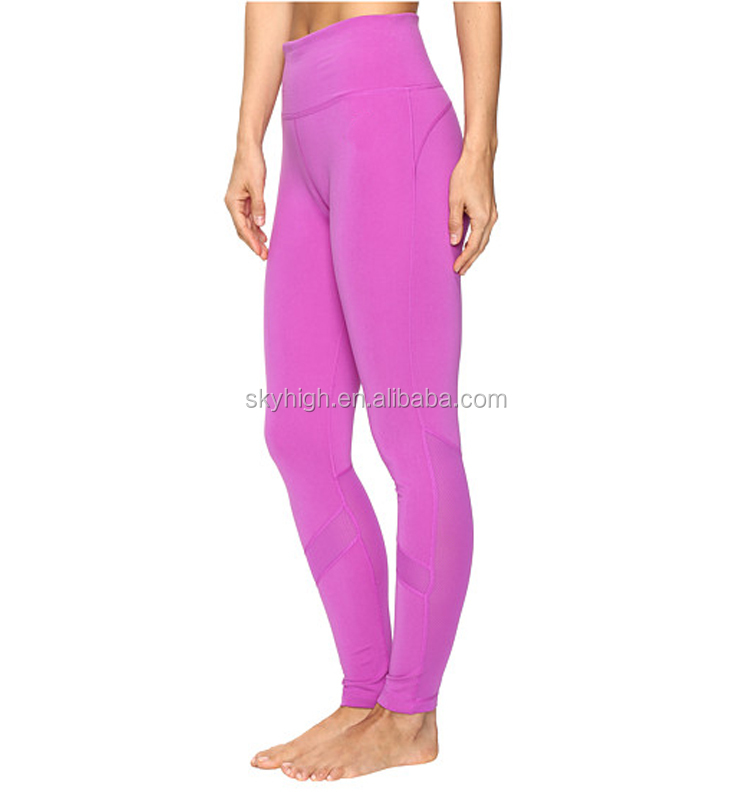 OEM factory Women Sport Yoga Gym Leggings High Waist yoga pants Running Fitness Training Pants