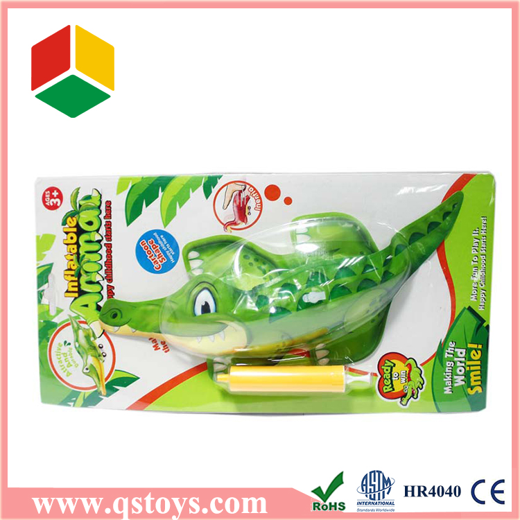 Newest Promotional gift dinosaur shaped inflatable toys for kids