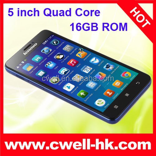 best chinese brand cell phones Lenovo S850 Android 4.4 Glass Shell 5.0 Inch 1GB RAM/16GB ROM 3 Colors WIFI GPS