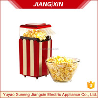 Kitchen appliance Hot Air Popcorn Maker,home party popcorn maker