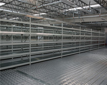 Heavy duty warehouse galvanised storage shelving solution