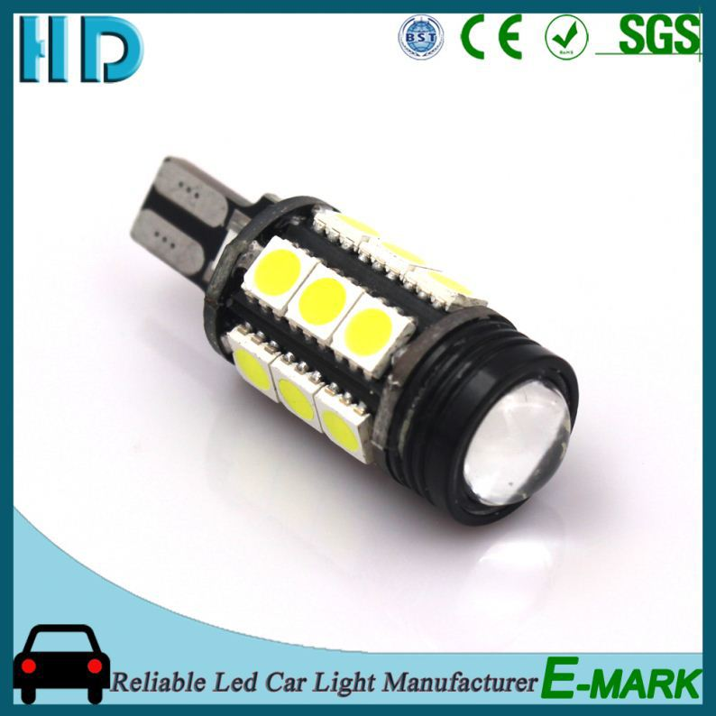 2016 new design 38smd 3014 led t10 canbus signal light cob 5w yellow car lighting automotive