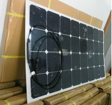 electric vehicle charging station flex solar panel 100w bendable