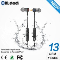 Unique patent consumer electronic wireless mp3 sport headphone bluetooth headphone