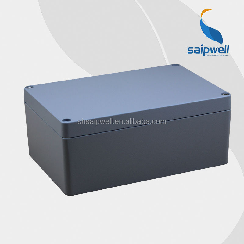 Saipwell High Quality Aluminium Enclosure Case With CE Certification / IP66 Enclosure