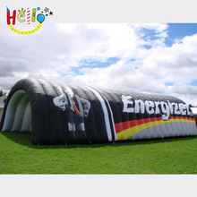 2017 new inflatable entrance tunnel,play a football game for sport game