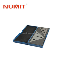 2PCS Precision Ground Angle Plates with Four Holes