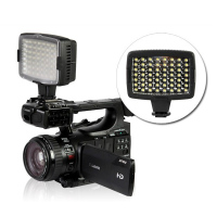 NanGuang CN-Lux560 On Camera LED Video Light for Camcorder DV Camera (Black)