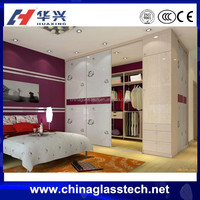 CE Standard Decorative Modern Style 3 Panel Sliding Closet Doors