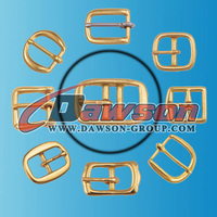 Leather Belt Solid Brass Buckles made in China