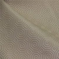 Embossed Unique Style Imitation PVC Leather for Car seat covers and Cushion