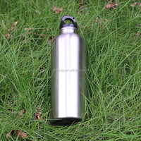 Stainless Steel Drinking Bottle With Flip Cap and Straw