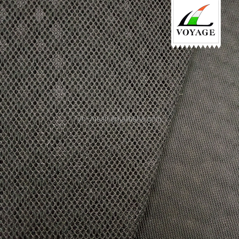 0986 3D Polyester Mesh Bus Seat Fabric