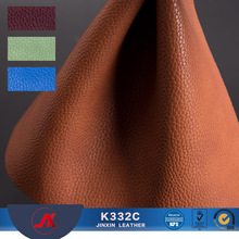 Reliable quality car seat lychee grain pvc artificial leather for car seat covers
